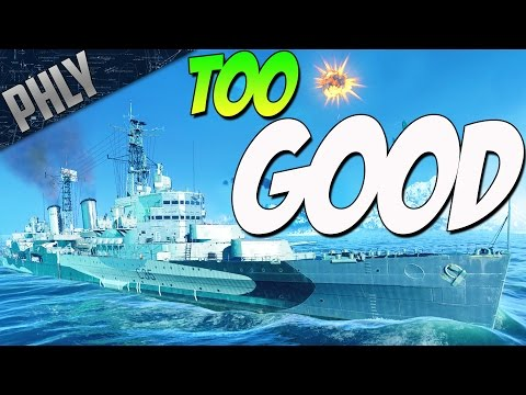 Buy This SHIP TO WIN - HMS BELFAST (World Of Warships Gameplay)