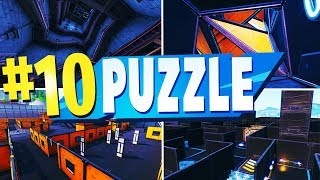 TOP 10 Best PUZZLE Creative Maps In Fortnite | Fortnite PUZZLE Map CODES