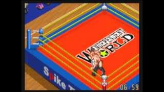 Game Boy Advance - Fire Pro Wrestling 2 - Ironman Road - Stage 1