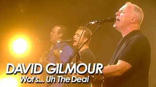 DAVID GILMOUR With RICHARD WRIGHT : PINK FLOYD 『 Wot's... Uh The Deal 』
