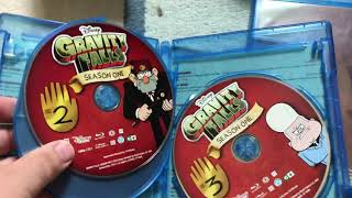 Gravity Falls Complete Series Blu Ray Unboxing