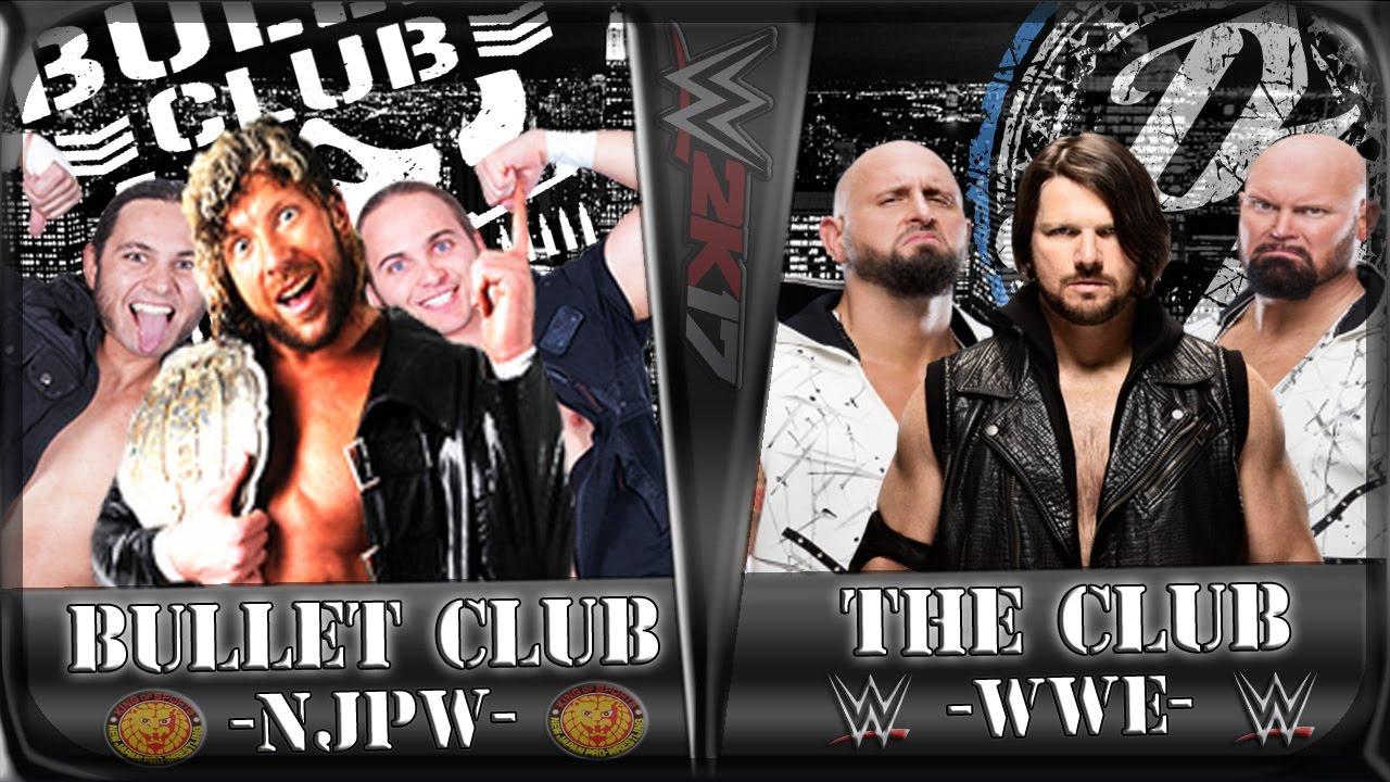The Bullet Club Vs WWE The Club
