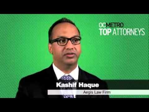 Kashif Haque - Top Orange County Employment Attorney Of Aegis Law Firm