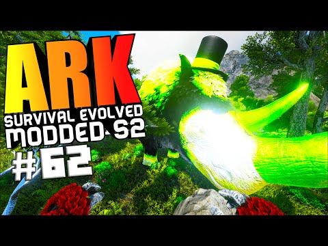 ARK Survival Evolved - NEW RHINO WARDEN BOSS FIGHT, UTILITY SADDLES MOD Modded #62 (ARK Gameplay)