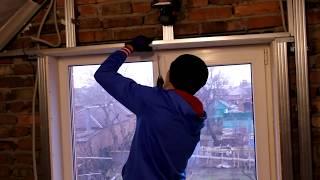 видео Обшивка фронтона крыши сайдингом,своими руками