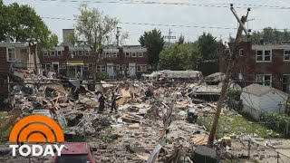 Deadly Gas Explosion Levels Houses In Baltimore | TODAY