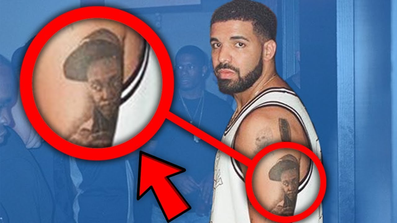 You Wont Believe What His Tattoo Means Drake Lil Pump Migos Lil Skies More