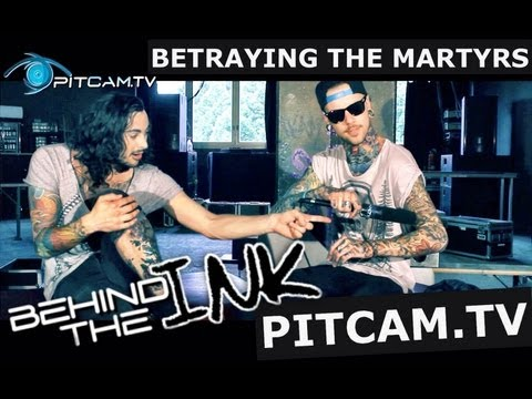 BETRAYING THE MARTYRS - Behind The INK w/ Aaron Matts & Victor Guillet (Band Intern) // PitCam.TV