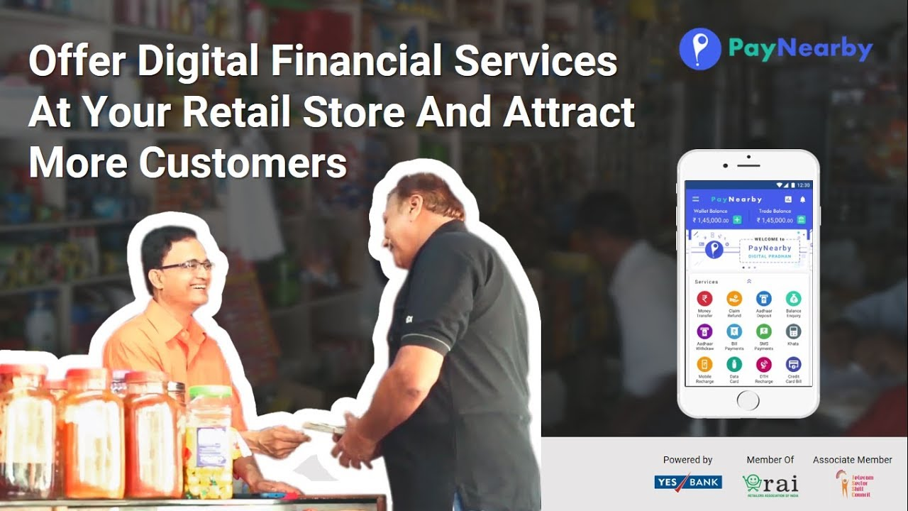 Aadhaar Pay & Other Financial Services at Local Stores