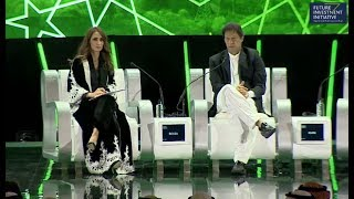 Pm Imran Khan Addresses Future Investment Initiative Conference Riyadh Saudi Arabia 23 October 2018