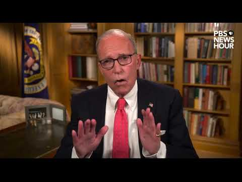 Larry Kudlow, assistant to the president for economic policy, spoke on the second night of the Republican National Convention., From YouTubeVideos