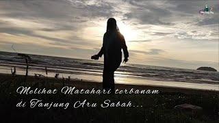 Download The Beauty Sunset of Sabah ll Tanjung aru ll moment sabah 10