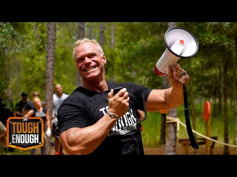 Gunn fires at Sara Lee while on the ropes course: WWE Tough Enough, July 28, 2015