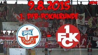 FC Hansa Rostock - 1. FC Kaiserslautern - 9.8.2015 - 1. DFB-Pokalrunde