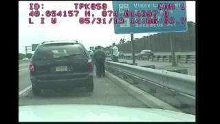 Bergen County Police and State Police have confrontation on New Jersey Turnpike
