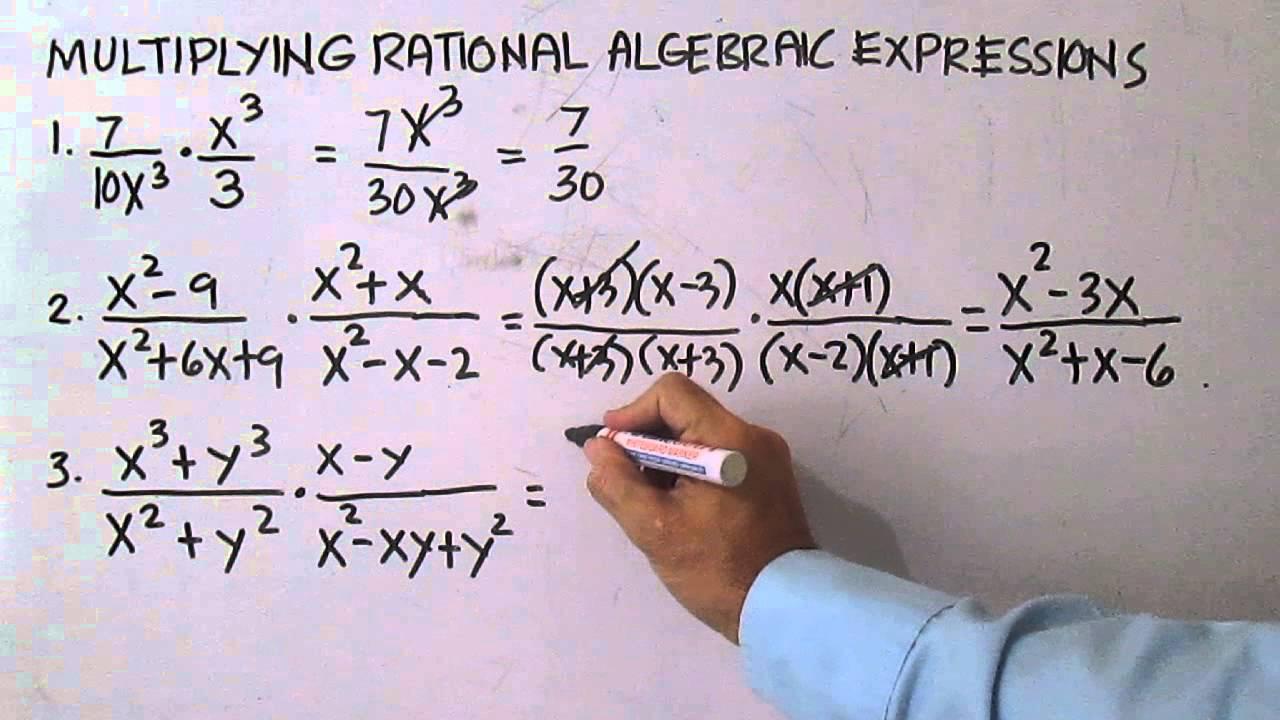 rational algebraic expressions ppt