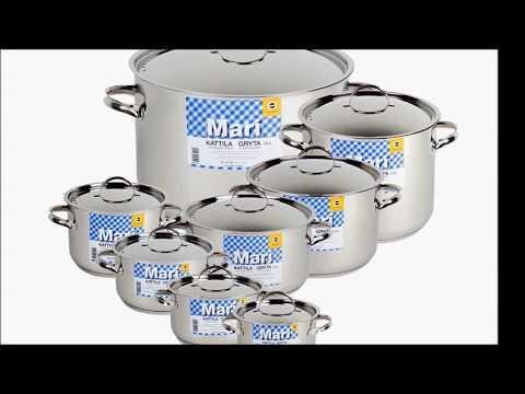 Купить финскую посуду из нержавеющей стали OPA