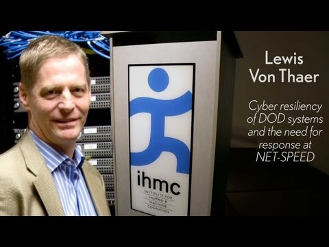 Lou Von Thaer - Cyber resiliency of DOD systems and the need for response at NET-SPEED