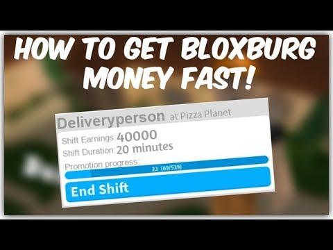 How to get money FAST in roblox bloxburg. [Bloxburg giveaways discord in description]