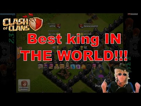 Clash Of Clans - Amazing King And Windows 10 SECRET