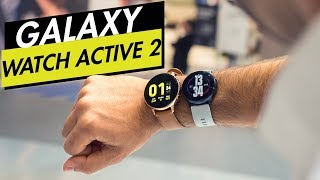 Samsung Galaxy Watch Active 2: Hands-on