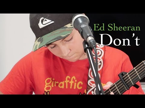 Don't - Ed Sheeran - Cover by Ben Glanfield