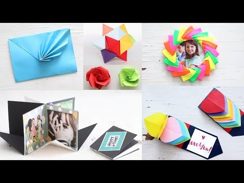 Lovely Paper Crafts | DIY Craft Ideas | Art All The Way
