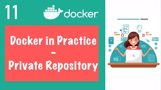 Private Repository explained | Registry on AWS - Docker in Practice || Kubernetes Tutorial 11