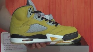 Authentic Air Jordan 5 Tokyo 5s HD Unboxing Review From authenticaj