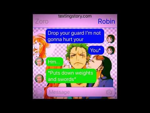 One Piece Groupchat: ROBIN WANTS ZORO😍😁