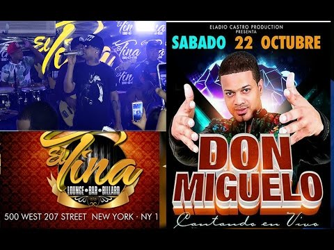 Don Miguelo 4K en vivo desde Euro El Tina Lounge