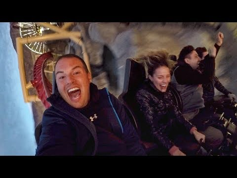 😱 GROWN MAN OVERCOMES EXTREME FEAR OF HEIGHTS ON TERRIFYING ROLLER COASTER 🎢