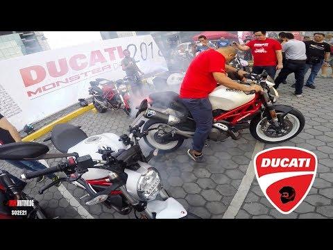 DUCATI MONSTER DAY 2018 | MRS JMAC | HOT GIRLS BIKE WASH | DUCATI SCRAMBLER MOTOVLOG