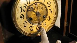 フリードリッヒ・マウテ フリースインガー 掛け時計 1900年前後