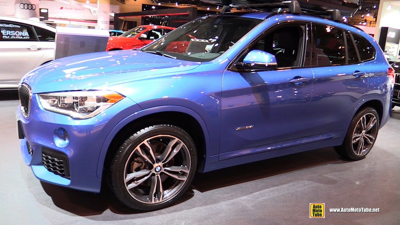 2017 bmw x1 28i xdrive m sport exterior and interior walkaround 2017 toronto auto show youtube. Black Bedroom Furniture Sets. Home Design Ideas