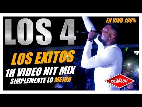 LOS 4 - LOS EXITOS - LO MEJOR - BEST OF (1H VIDEO HIT MIX)