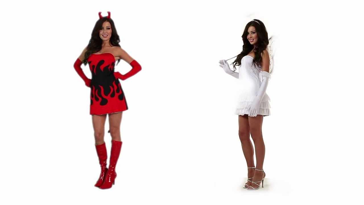 Angel o Demonio Disfraces Halloween Fiesta de Disfraces YouTube