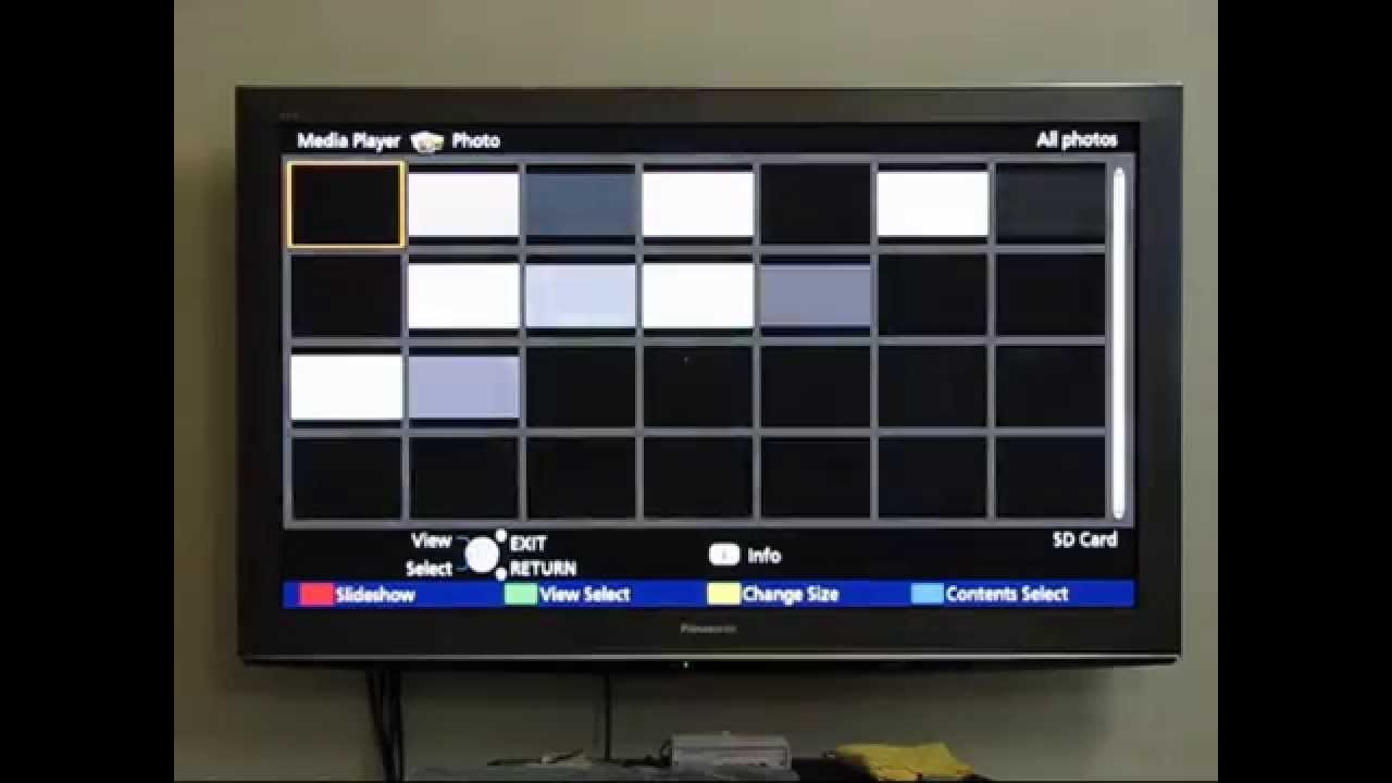 Plasma Tv Burn-In Test Slides