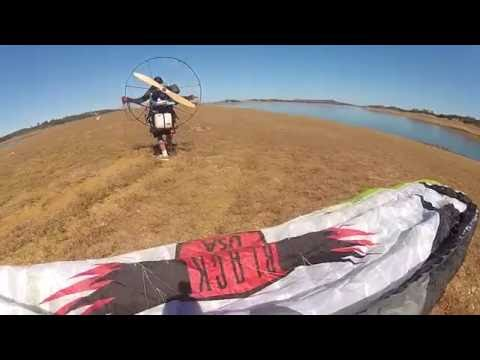 "Paramotor Mike Robinson Paratoys Blackhawk Owner ""Instructor"" DESTROYED By New SUPER Student!!"