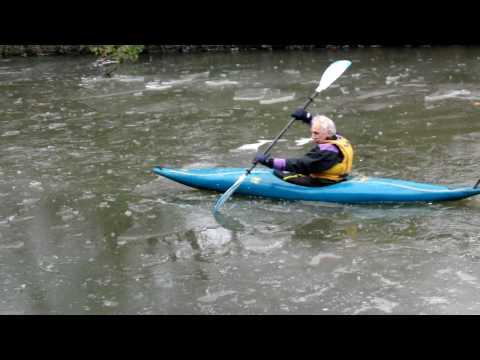 ice canoe lesson