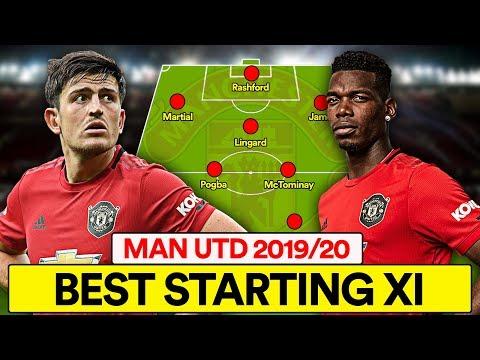 MAN UTD'S 2019/20 BEST STARTING XI   FORMATION & TACTICS