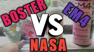 Hari ke 55: BOSTER vs NASA vs EM4, MENGEJUTKAN!