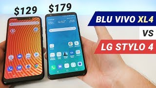BLU Vivo XL4 vs LG Stylo 4 - Which is Better?