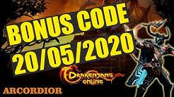 Drakensang Online - BONUS CODE 20/05/2020