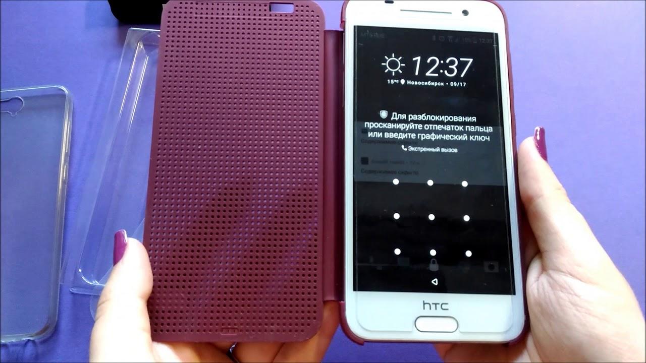 best sneakers c06e3 32da7 Обзор чехла HTC Dot View Ice Premium для HTC One A9 [buy on eBay]