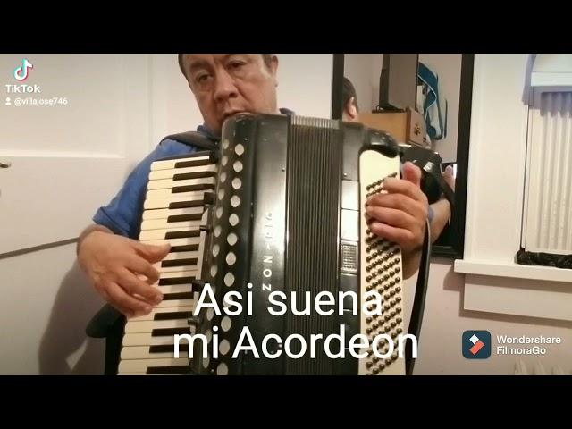Asi suena mi Acordeon  Villa Jose
