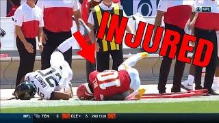 Tyreek Hill Injured by Jalen Ramsey Jaguars vs Chiefs