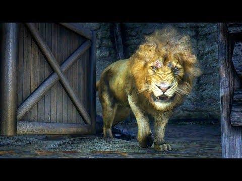 رحلة صيد الأسد الأسطوري ملك الغابة النادر في ريد ديد ريدمبشن 2 | RDR 2 Lion Hunt
