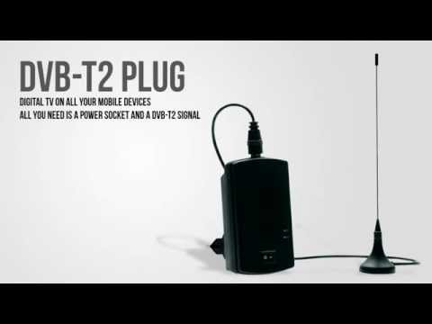 Turn your iPhone, iPad or Android smartphone into a DVB-T2 TV receiver
