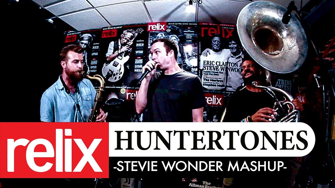 Stevie Wonder Mash-Up | Huntertones | Relix Studio Sessions